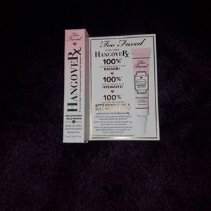 Too faced hangover Rx primer free with purchase